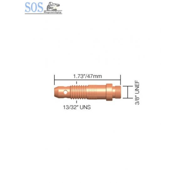 2,4mm patronbefogó ház (17,26,18-as pisztolyokhoz) (5db/cs)