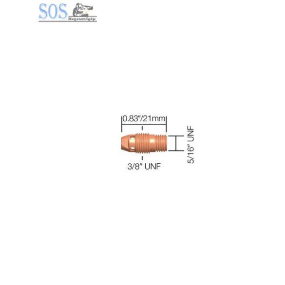 1,6mm rövid patronbefogó ház (9,20-as pisztolyokhoz) (5db/cs)