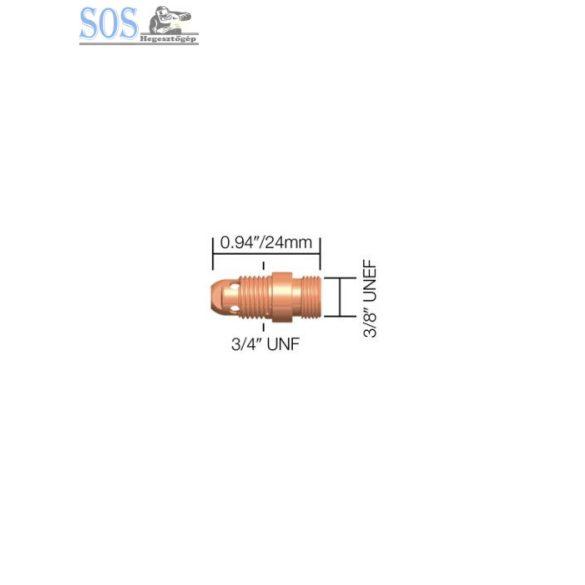 Patronház 0,5-3,2mm (17/18/26 pisztolyhoz) (10db/cs)