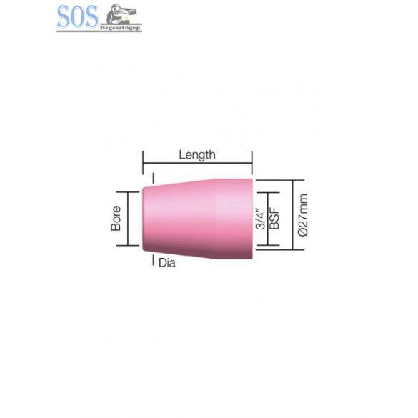 Alumínium kerámia gázterelő 10-es (5db/cs)