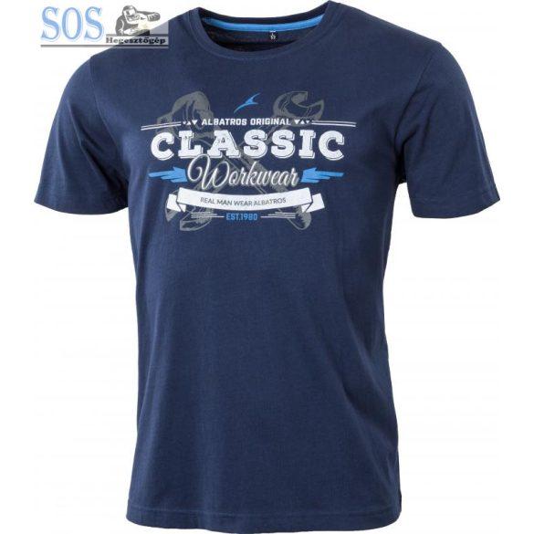 Albatros Classic póló - kék