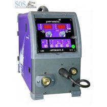 PARWELD 200A-es imp/duplaimp MIG/MAG gázhűtéses hegesztőgép RAPID panel