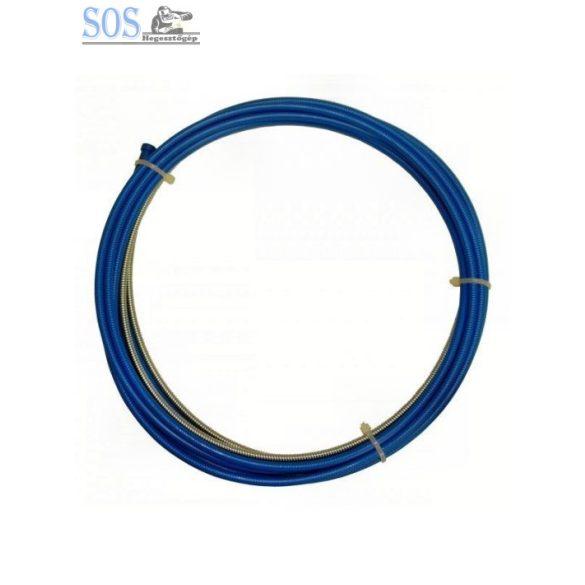 Huzalvezető spirál 5m 0.6-0.9mm kék