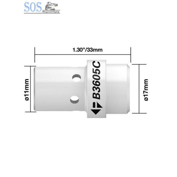 Műanyag gázdiffúzor 340A (5db/cs)