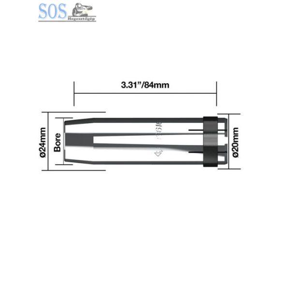 Egyenes gázterelő O 19 mm 340A (5db/cs)