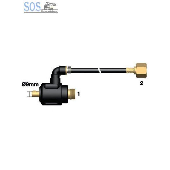 35/50mm nagydinze csatlakozó adapter AWI pisztolyhoz 3/8 X M12 gáz csatlakozó véggel
