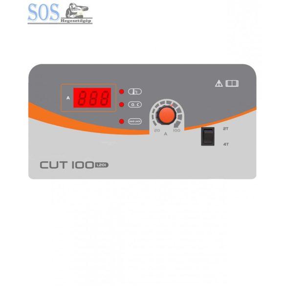 CUT-100 (L201) Inverteres plazmavágó gép P80 munkakábellel