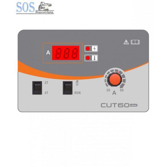 CUT-60 (L204) Inverteres plazmavágó gép P80 munkakábellel
