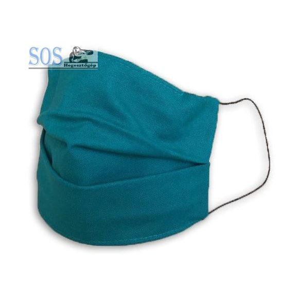 MD kétrétegű textil szájmaszk, zöld
