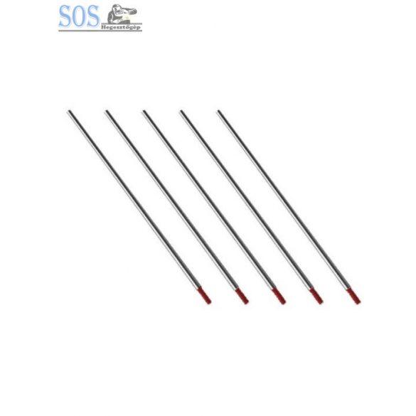 3.2mm 175mm piros wolfram 2% thor (10db/cs)