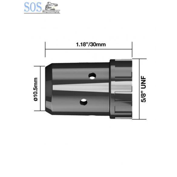Diffúzor műanyag, fekete (5db/cs)