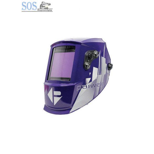 Automata fejpajzs, lila-metál, 4 szenz., nagy látómező: 101x94mm. DIN 5-13