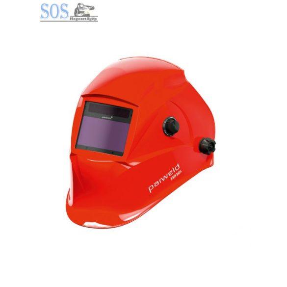 Automata fejpajzs, vörös, 4 szenz., látómező: 100x52mm. DIN 5-13