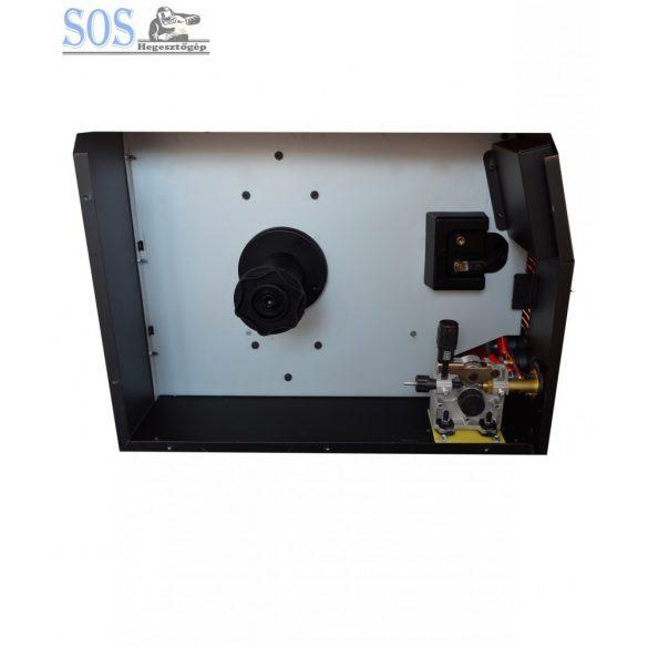 Handy MIG 215A/230V Sinergic inverteres hegesztőgép 5Kg CO2 palackkal
