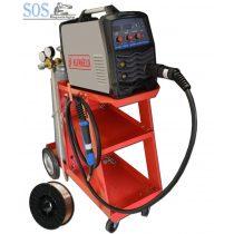 MIG MMA 185P inverteres hegesztőgép csomagban 10Kg CO2 palackkal