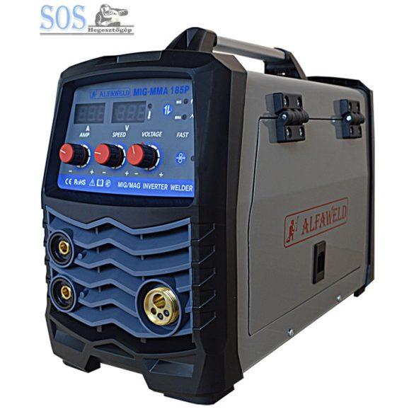 MIG MMA 185P inverteres hegesztőgép csomagban 5Kg CO2 palackkal