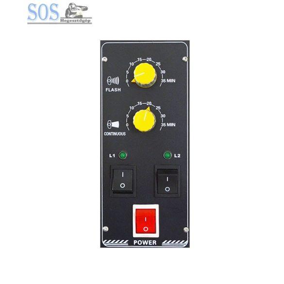 Kétsoros infravörös szárító lámpa-B2