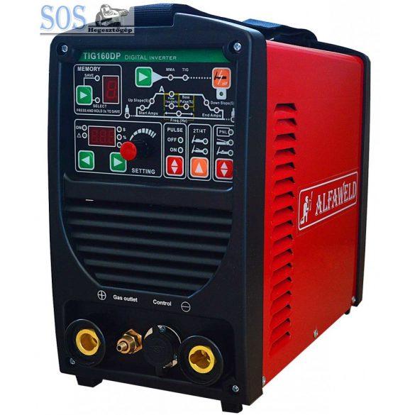 TIG 160DP DC AWI Digitális inverteres hegesztőgép