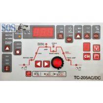 TC-205 multifunkciós hegesztőgép: TIG AC/DC– MMA – Plazmavágó