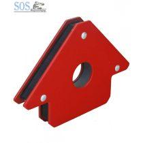 Mágneses szögbeállító 4″/ 22kg 45°-90°-135°
