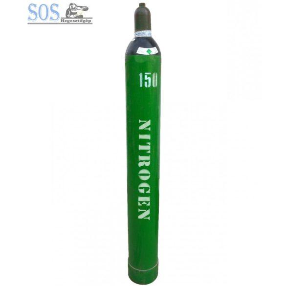 Nitrogén töltött palack: 6 m³
