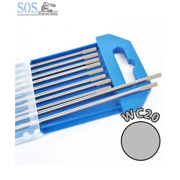 Wolfram elektróda WC20 szürke - Ø 1.6 x 175 mm