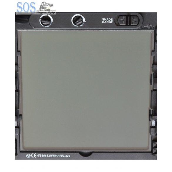 Automata hegesztőpajzs - WH 9801-A - Óriás látómezővel