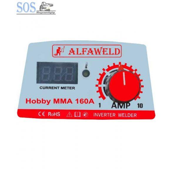 Hobby MMA 160 inverteres hegesztőgép