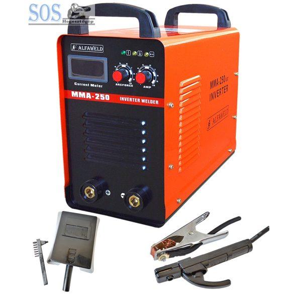 ALFAWELD MMA 250 250A/400V inverteres ipari hegesztőgép