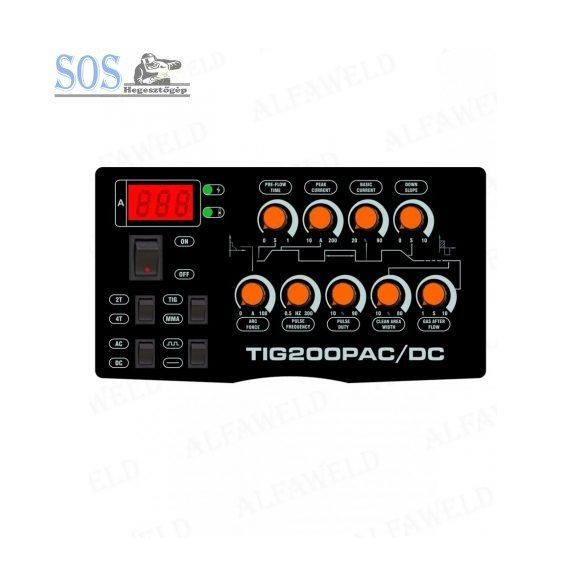 Jasic TIG 200P (E101) AC/DC inverteres hegesztőgép