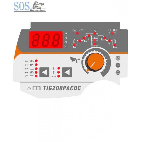 TIG 200P AC/DC (E201) inverteres AWI hegesztőgép