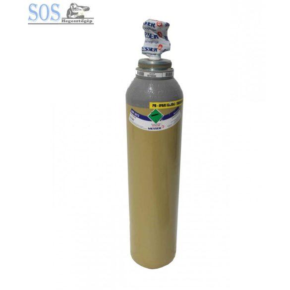 Szén-dioxid CO2 töltött palack nem menetes, kupak nélkül : 5kg