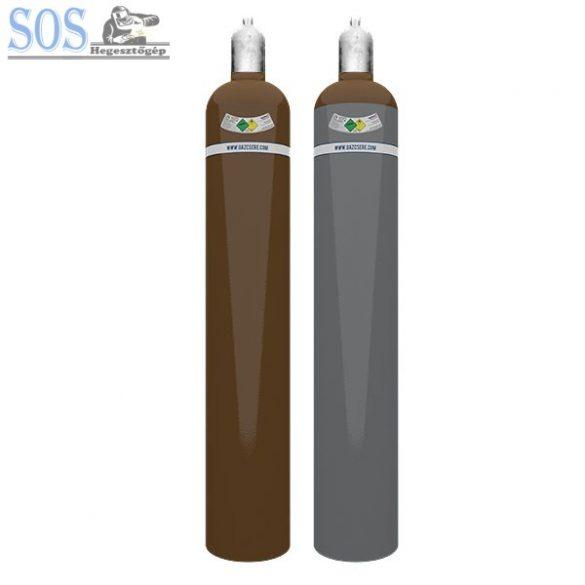 Hélium 10 m3 ipari nemesgáz töltött palack