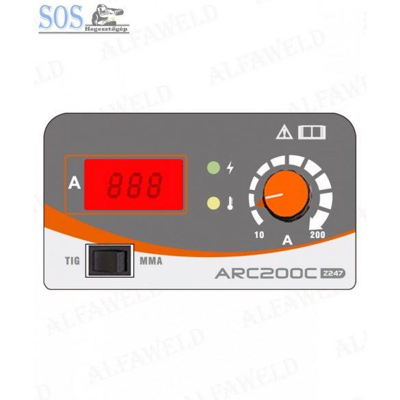 Jasic Arc 200C (Z247) inverteres hegesztőgép cell