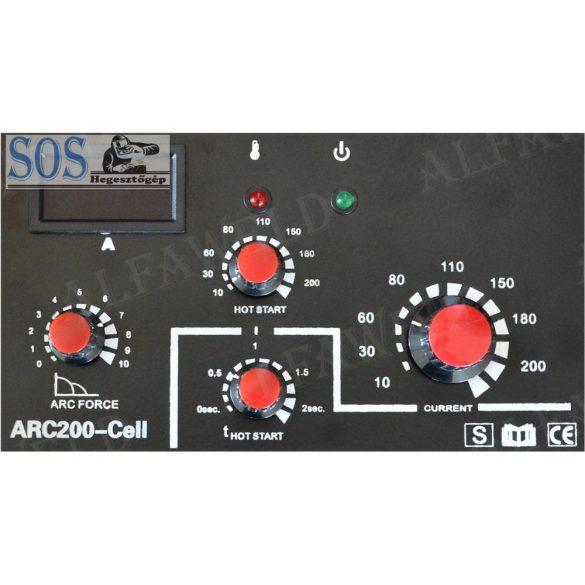 ARC 200i 200A/230V Cellulose inverteres hegesztőgép