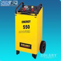 SOLARY Booster 550 akkumulátor töltő és indító